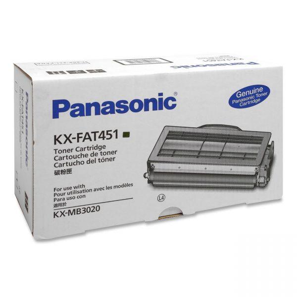 Panasonic KX-FAT451 Black Toner Cartridge