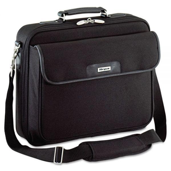 Targus Notepac Notebook Case, Ballistic Nylon, 15-3/4 x 5 x 14-1/2, Black