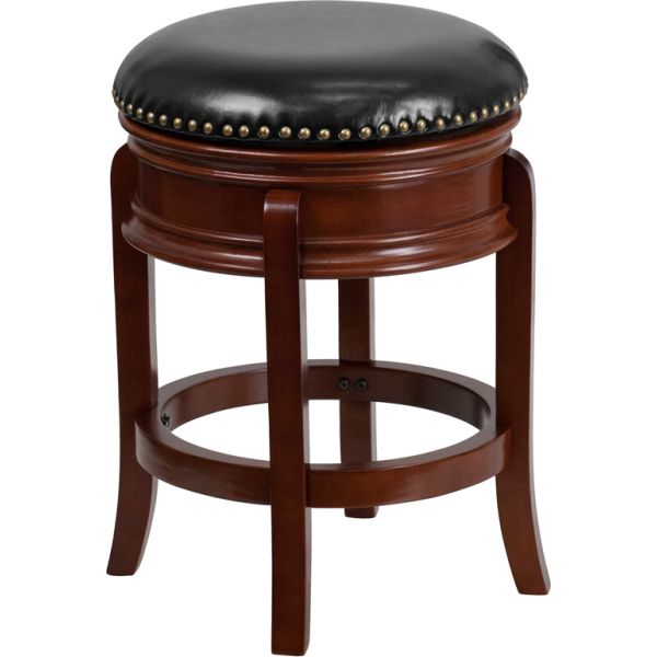 Flash Furniture 24'' Backless Counter Height Stool with Swivel Seat