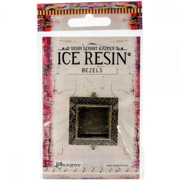 Ice Resin Milan Bezels Closed Back Square Medium
