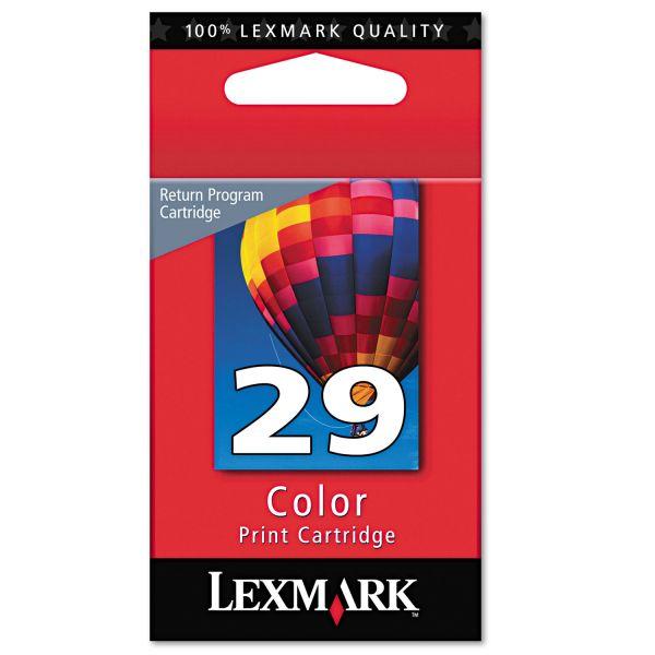 Lexmark #29 Color Return Program Ink Cartridge