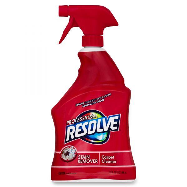 Professional RESOLVE Spot & Stain Carpet Cleaner, 32oz Spray Bottle