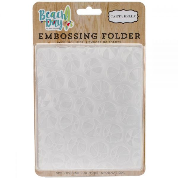 "Carta Bella Embossing Folder 5""X5.875"""