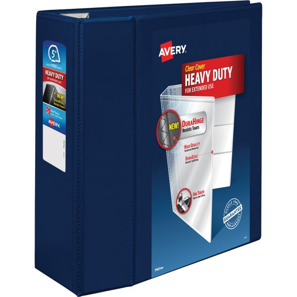 "Avery Heavy-Duty 5"" 3-Ring View Binder"
