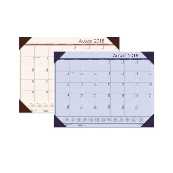 House of Doolittle EcoTones Monthly Academic Desk Pad Calendar