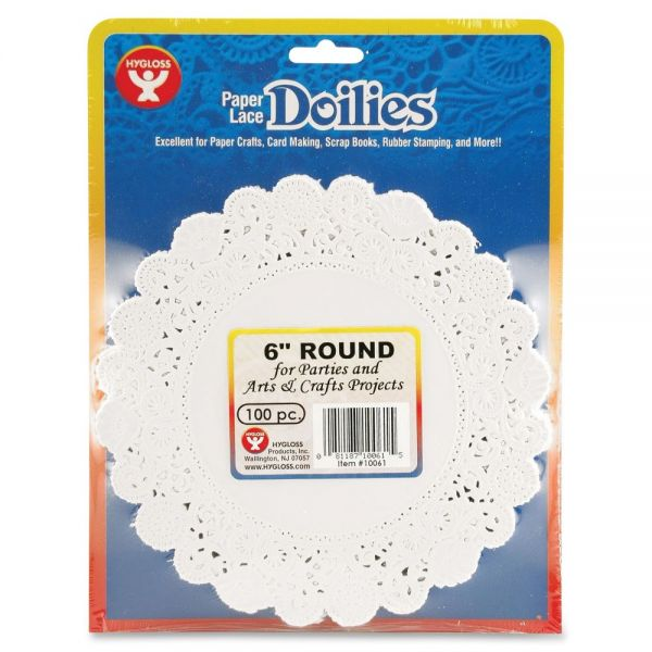 Hygloss Round Doilies