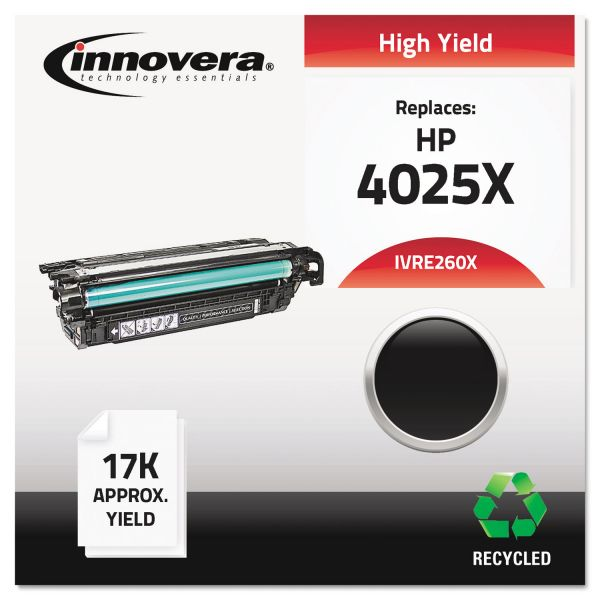 Innovera Remanufactured CE260X (649X) High-Yield Toner, Black