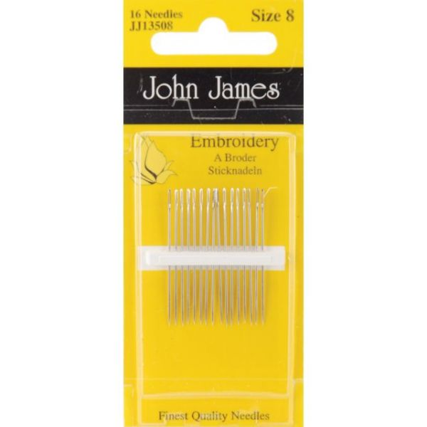 John James Embroidery Hand Needles