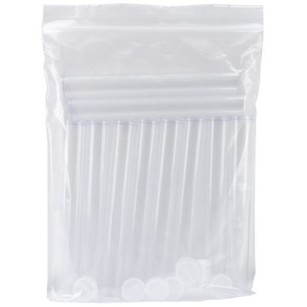 Clear Tall Round Craft Tube 10/Pkg