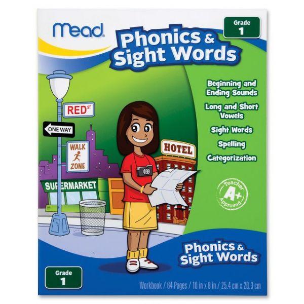 Mead Phonics/Sight Words Grade 1 Workbook Education Printed Book