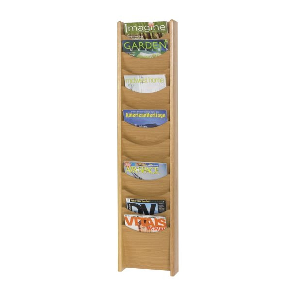 Safco 12 Pocket Wall Mount Literature Display