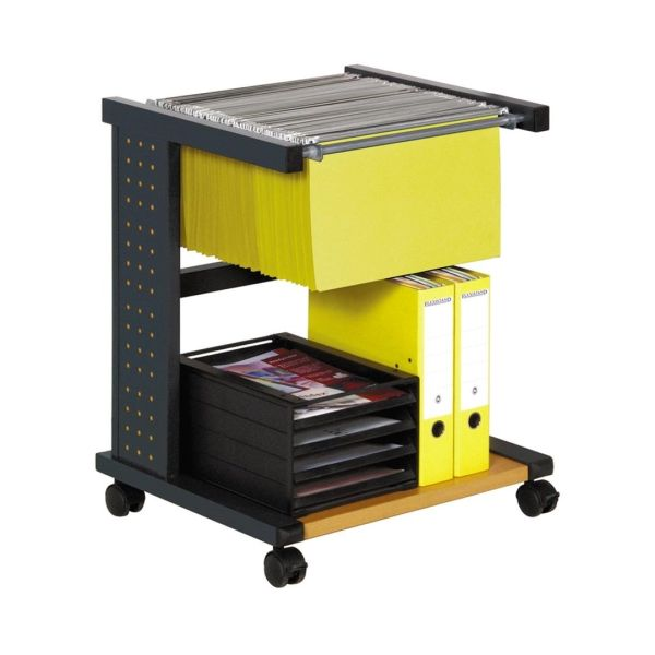 Smead Flexistand Single-Width Rolling File with Shelf