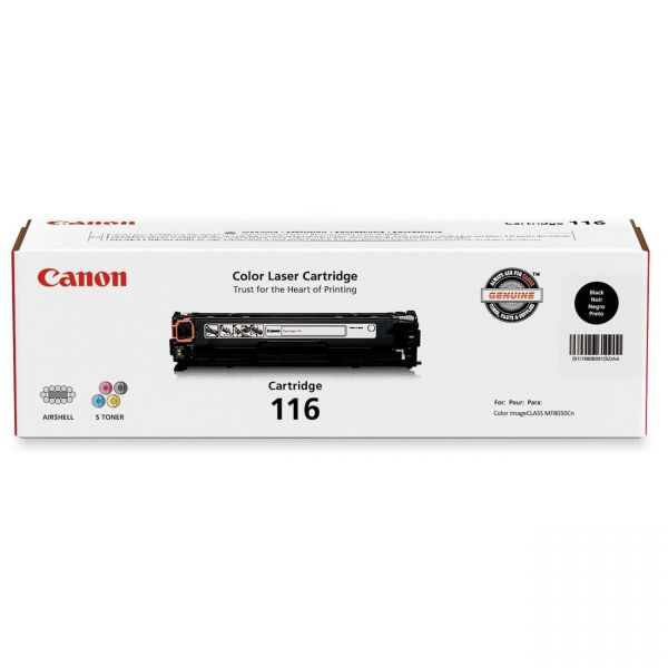 Canon 116 Black Toner Cartridge (CRTDG116-BK)