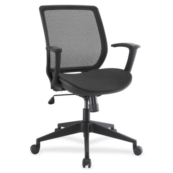Lorell Mesh Executive Mid-Back Office Chair
