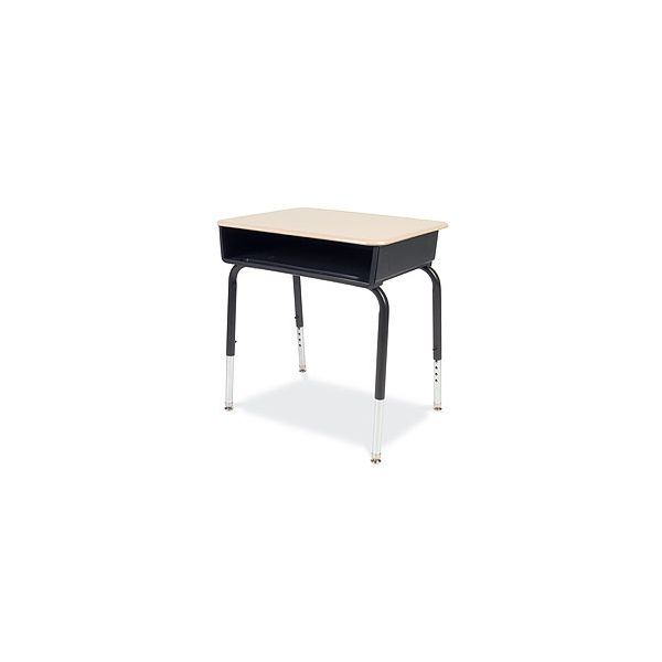 Virco 785 Open-Front Student Desks withBlack Bookbox, 2/Carton
