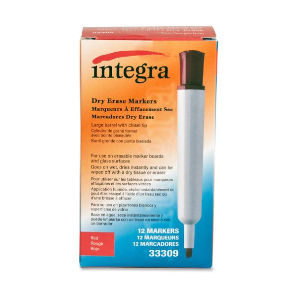 Integra Dry Erase Markers