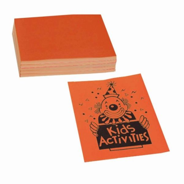 Pacon Colored Bond Paper - Neon Orange