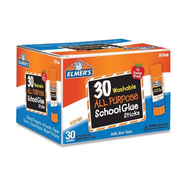 Elmer's All-Purpose Glue Stick 30 Count Class Pack