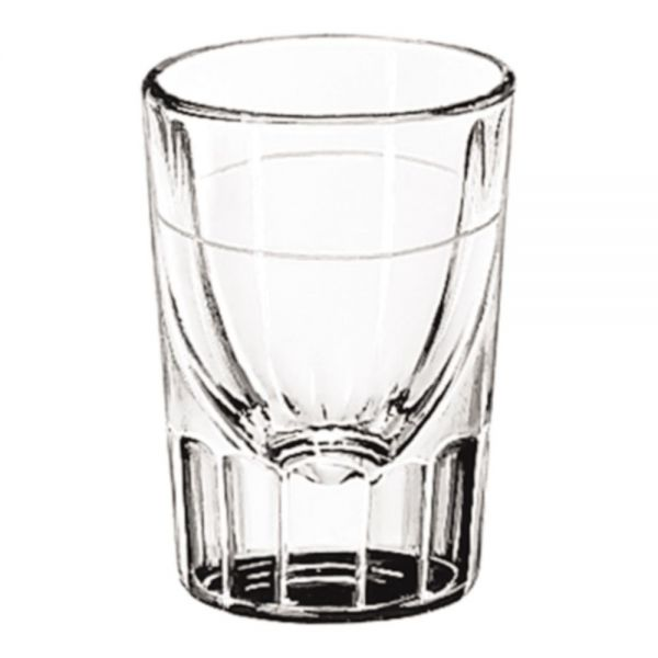 Libbey Whiskey Service 1 oz Fluted Shot Glasses