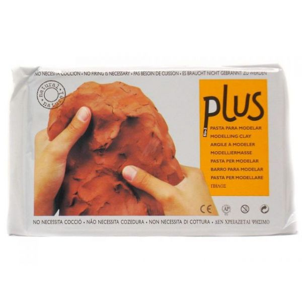 Plus Natural Self-Hardening Clay 2.2lb