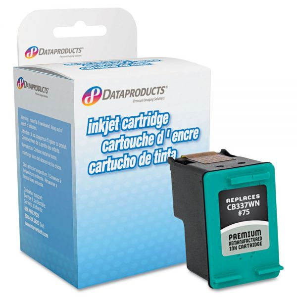 Dataproducts Remanufactured HP 75 Color High Yield Ink Cartridge