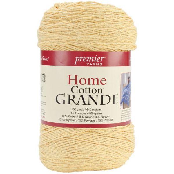 Premier Home Cotton Grande Yarn - Yellow