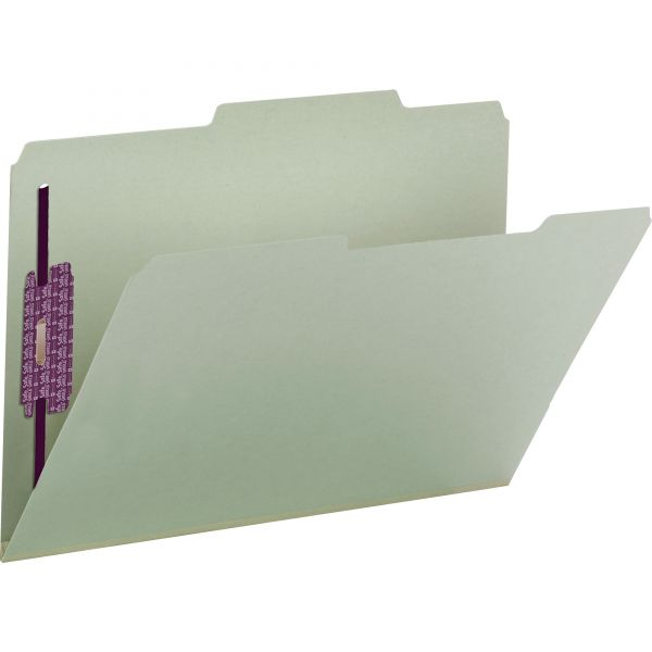 Smead Pressboard File Folders With SafeSHIELD Fasteners
