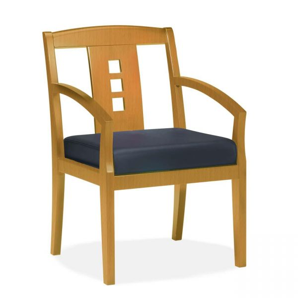 Mayline Mercado Wood VSC Guest Chair