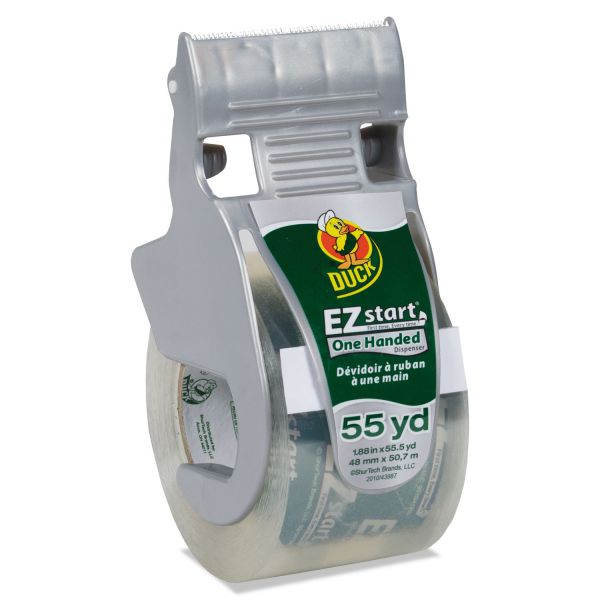 Duck Brand E-Z Start Premium Packing Tape with Dispenser