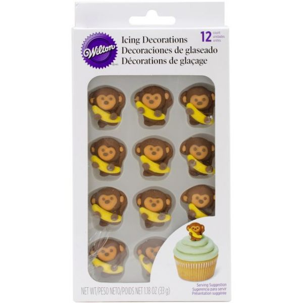 Icing Decorations 12/Pkg