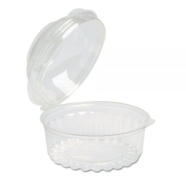Reynolds Plastic Bowls with Dome Lids, 8oz, Clear, Round, 250/Carton