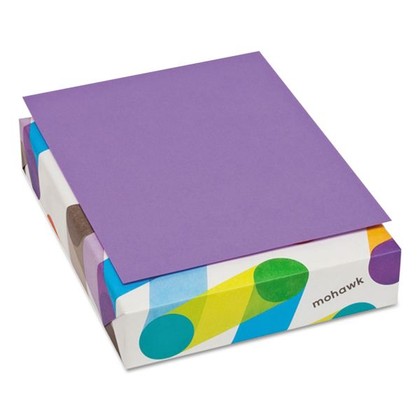 Mohawk Brite-Hue Colored Paper - Violet