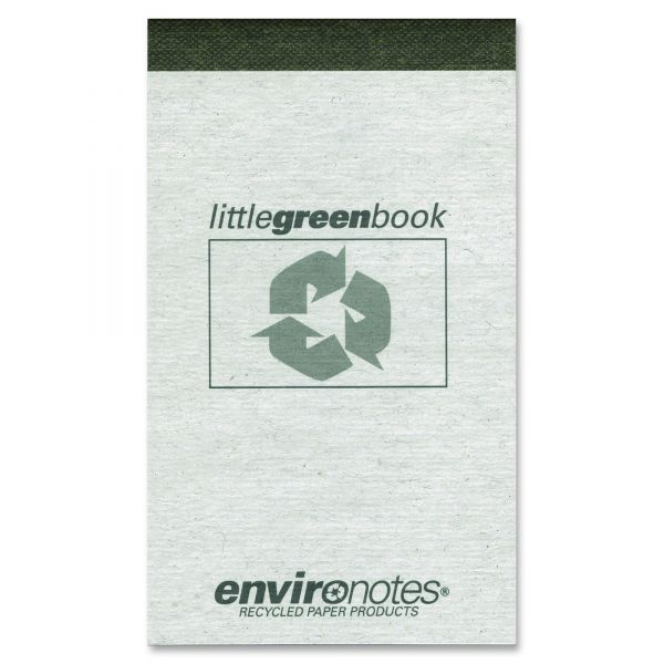 Environotes Little Green Notebook