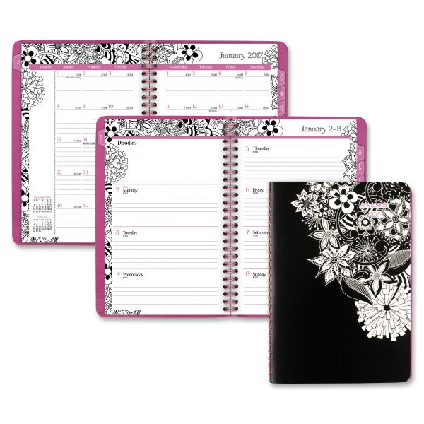 At-A-Glance FloraDoodle Weekly/Monthly Planner