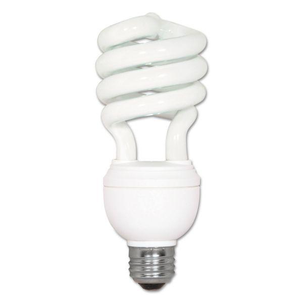 Satco CFL Spiral 3-Way T4 Bulb