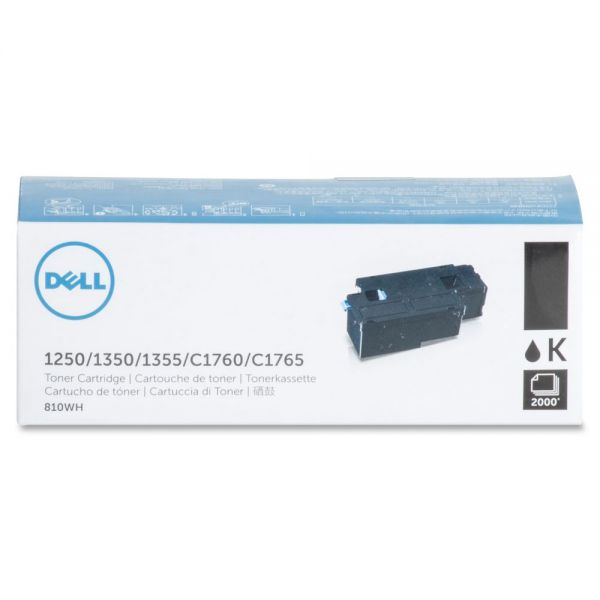Dell 810WH Black Toner Cartridge