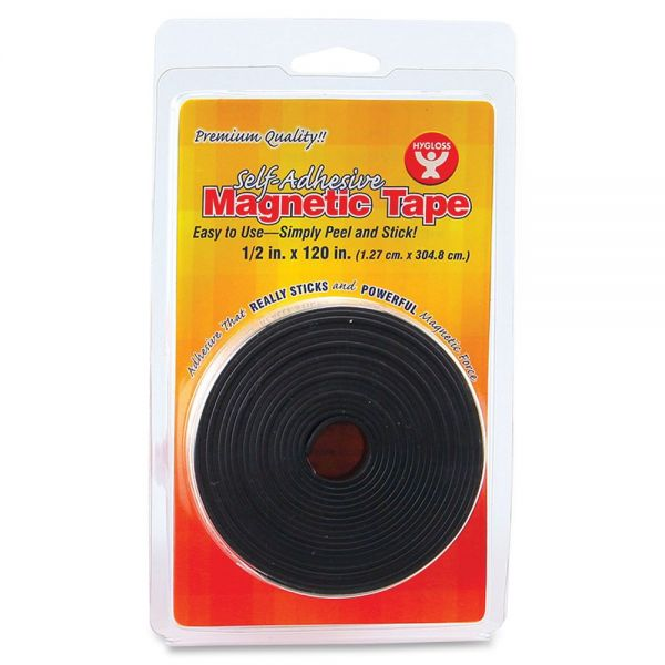 Hygloss Self-adhesive Magnetic Tape
