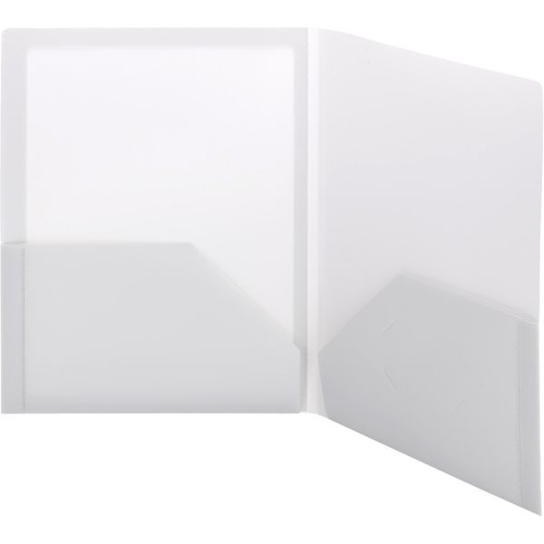 Smead Frame View Poly Two-Pocket Folder