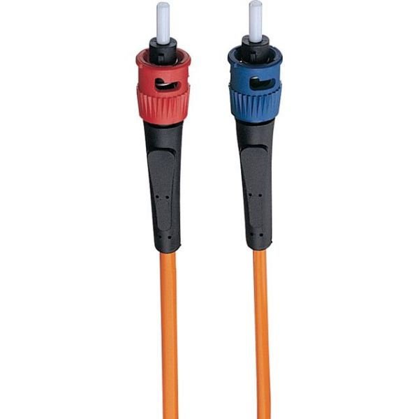 Tripp Lite 2M Duplex Multimode 62.5/125 Fiber Optic Patch Cable LC/ST 6' 6ft 2 Meter