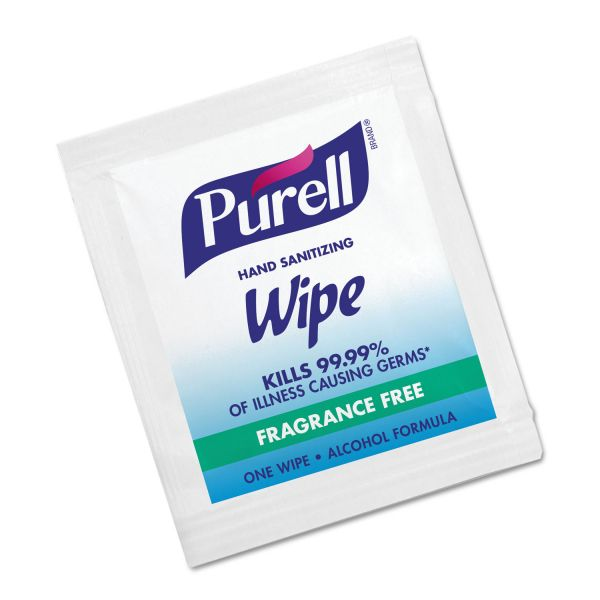 PURELL Individually Wrapped Hand Sanitizing Wipes