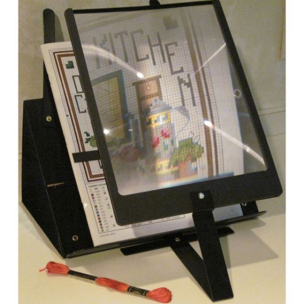 PROP-IT Hands-Free Page Magnifier & Stand