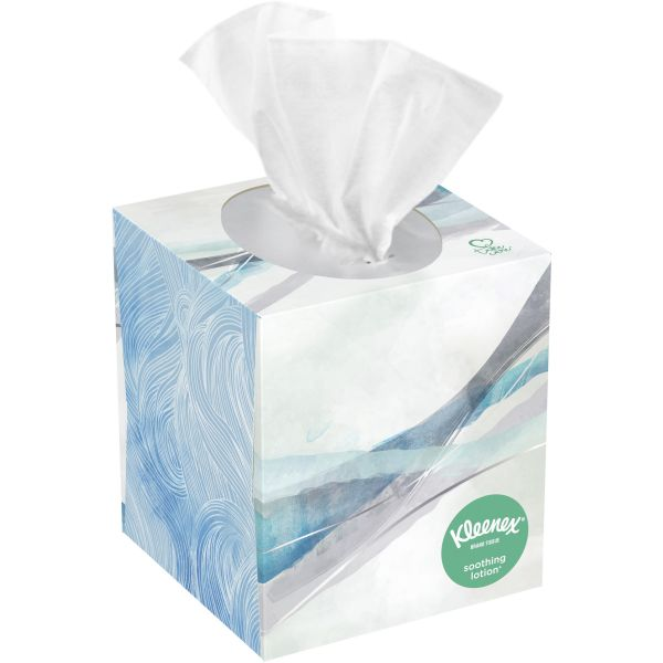 Kleenex Soothing Lotion 3-Ply Facial Tissues