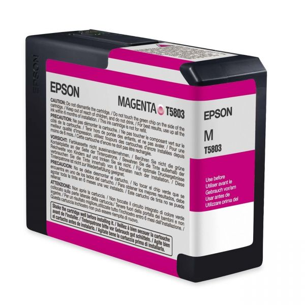 Epson T5803 Magenta Ink Cartridge