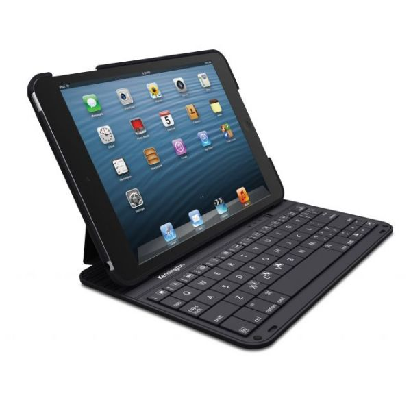 Kensington KeyFolio Thin K39796US Keyboard/Cover Case (Folio) for iPad mini - Black