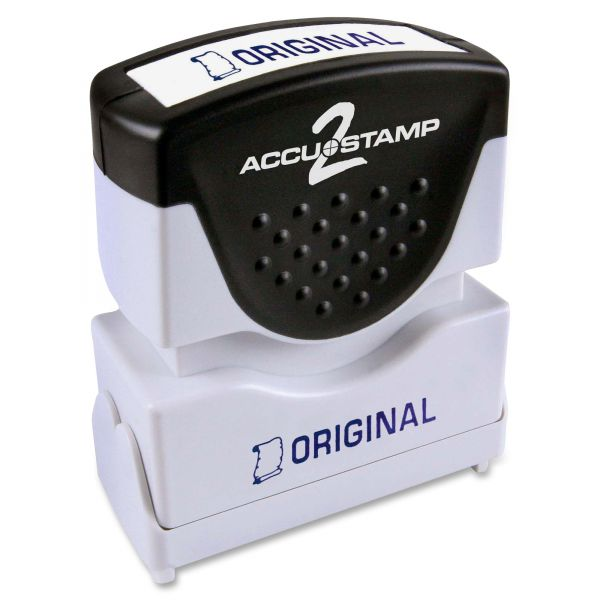 COSCO 1-Color Blue Shutter Stamp w/ Microban