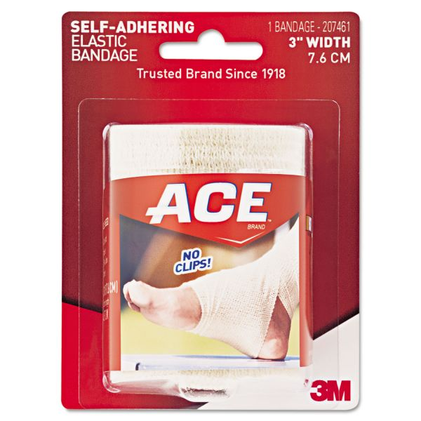 "ACE Self-Adhesive Bandage, 3"" x 50"""