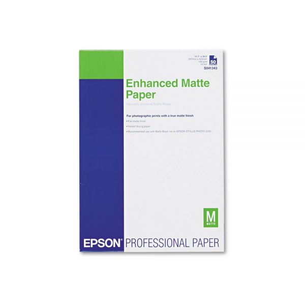 Epson Professional Enhanced Matte Photo Paper
