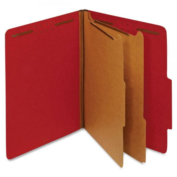 Globe-Weis Pressboard Classification Folders