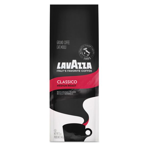 Lavazza Medium Roast Ground Coffee (3/4 lb)