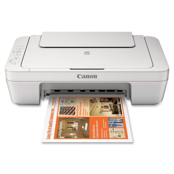 Canon PIXMA MG2924 Inkjet Multifunction Printer - Color - Plain Paper Print - Desktop